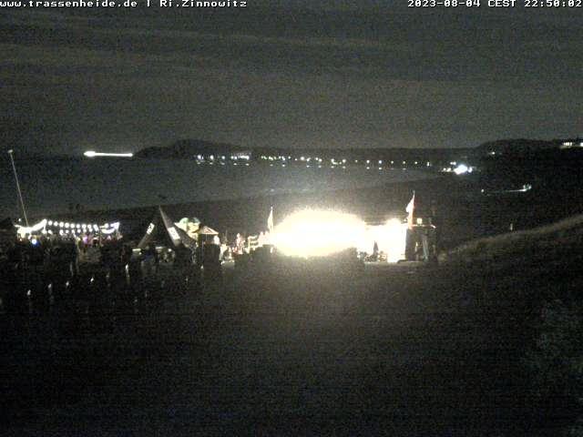 Blick auf den Strand von Trassenheide.